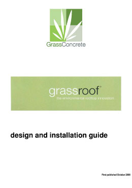 Grassroof Design and Installation guide